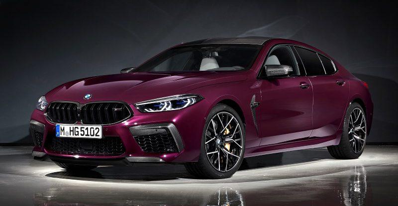 Представлен новый спорт-седан BMW M8 за 10 миллионов рублей
