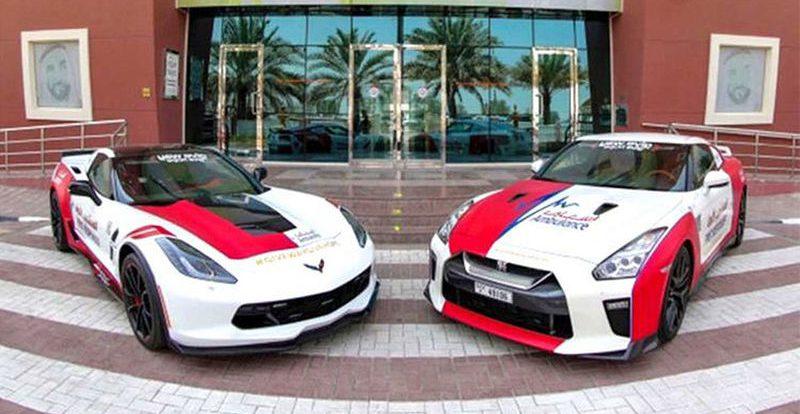 Скорая помощь Дубая пересаживается на суперкары