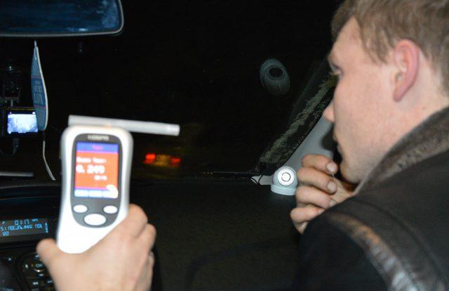Пьяные водители продолжают создавать опасность на смоленских дорогах