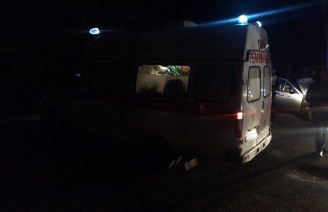 Две иномарки столкнулись на неосвещенной дороге в Смоленской области