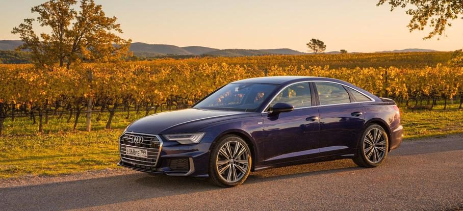 Названы рублевые цены на самые доступные Audi A6