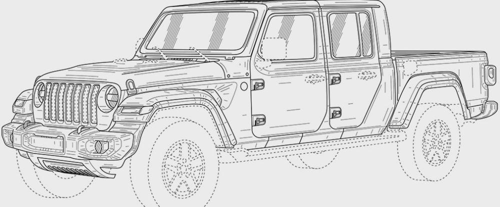 Jeep запатентовал в России пикап Gladiator