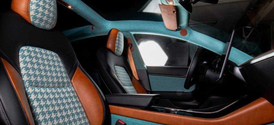 Посмотрите на Tesla Model 3 с салоном, который должен понравиться бумерам