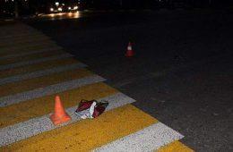 В Смоленской области сильно спешащий водитель сбил человека