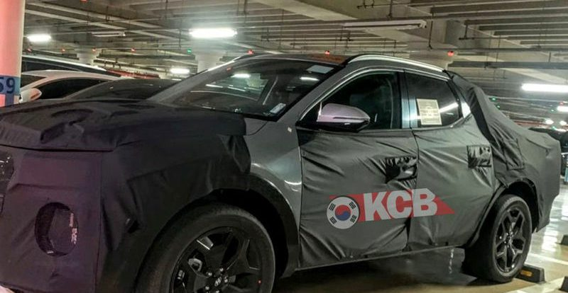 Hyundai начала испытания пикапа Santa Cruz