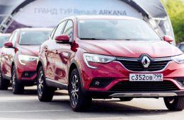 Кроссовер Renault Arkana стал самой продаваемой автомобильной новинкой в России