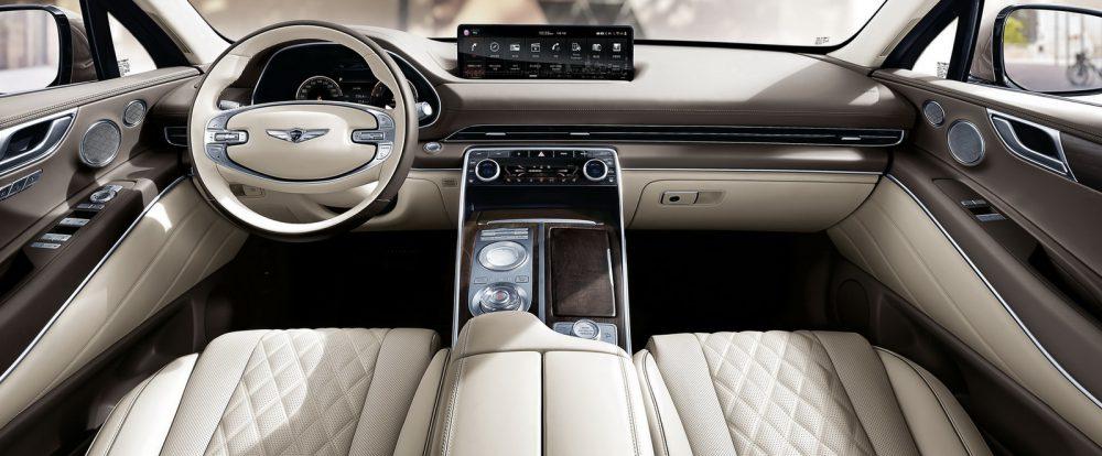 Подвинься, BMW X5: официально представлен премиум-кроссовер Genesis GV80