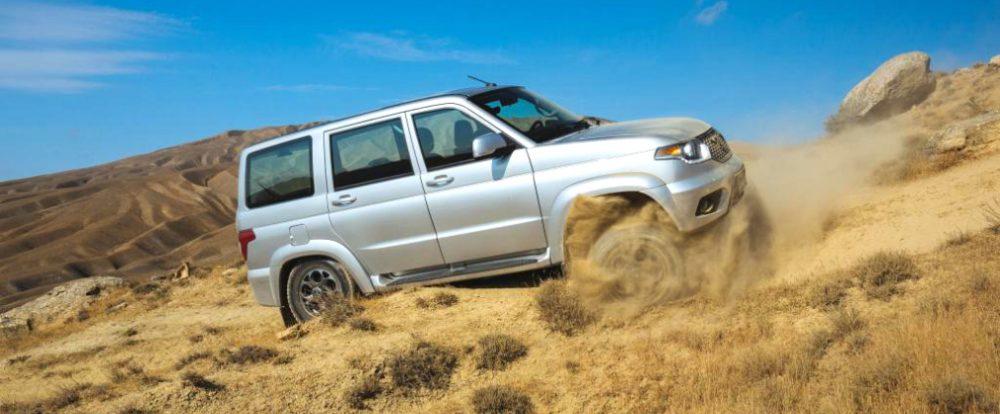 «Русский Prado» от УАЗ оснастят новой коробкой передач