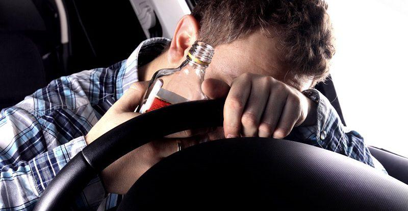 В Смоленске на Королевке поймали пьяного водителя