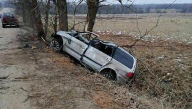 В результате ДТП в Смоленской области госпитализирован водитель