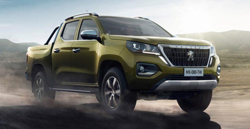 Компания Peugeot выводит на рынок новый пикап