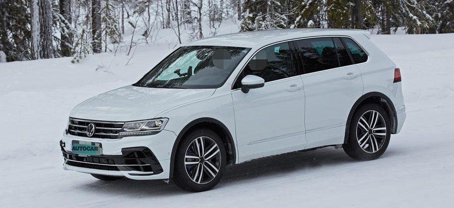 Volkswagen Tiguan получит мощную версию