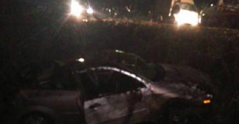 В Смоленской области автоледи на «Фокусе» «вылетела» в кювет