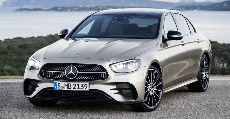 Обновлённый Mercedes-Benz E-класса появится в России летом