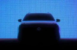 Дешевый кроссовер Volkswagen Nivus показался на новых тизерах