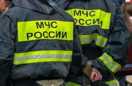 Автомобиль Volksvagen сгорел в Новодугинском районе