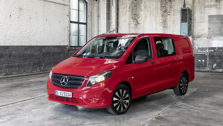 Представлены обновленные фургоны и минивэн Mercedes-Benz Vito