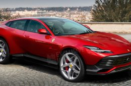 Стали известны подробности о первом кроссовере Ferrari