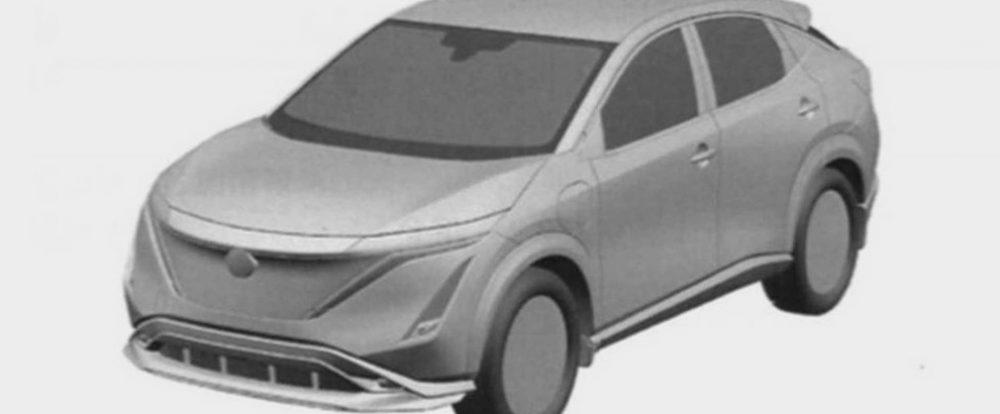 Nissan запатентовал внешность нового кроссовера для России