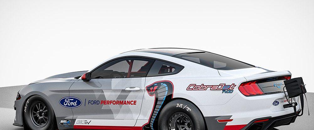 Ford представил электрический Mustang