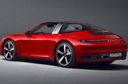 Представлено новое поколение модели Porsche 911 Targa, рублёвые цены уже известны