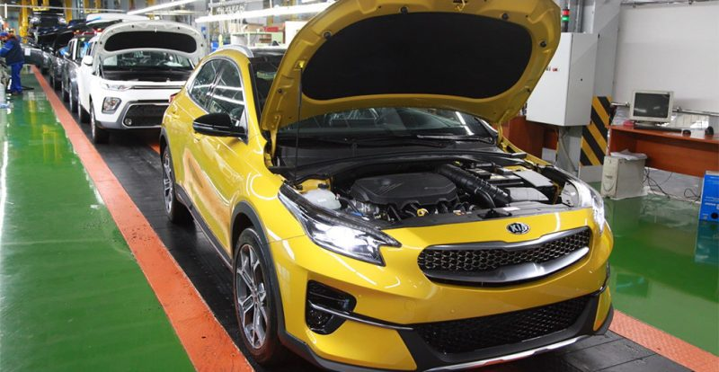 На «Автоторе» началось производство нового кросс-хэтчбека Kia