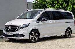 Объявлена цена первого электрического минивэна Mercedes-Benz