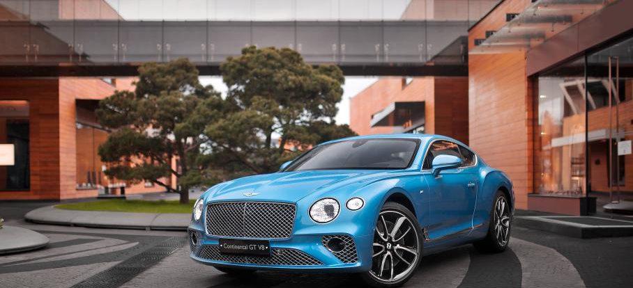 До России добрался Bentley Continental GT с двигателем V8