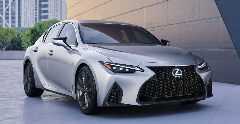 Представлено новое поколение спортседана Lexus IS