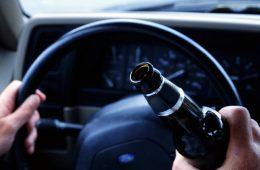 В центре Смоленска задержали пьяного водителя