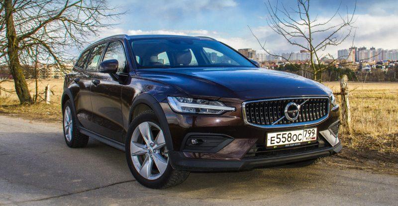 Сексуальная практичность: тест-драйв универсала Volvo V60 Cross Country