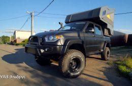 «Эльбрус»: автодом на базе «Пикапа» за 2,5 млн рублей