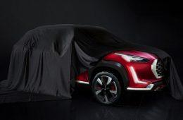 Самый маленький кроссовер Nissan: новое изображение