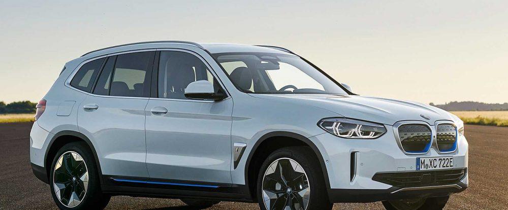 BMW представила первый электрический кроссовер iX3