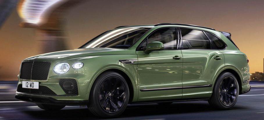 Bentley Bentayga поменяли внешность. Теперь он похож на Continental