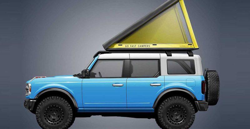 Спальня на крыше машины: самая легкая и прочная