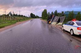 «Потребовалась «скорая». В Смоленске в ДТП пострадал подросток на мотоцикле