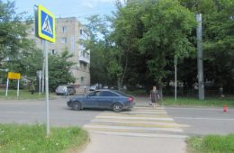 В Смоленске на «зебре» сбили пенсионерку