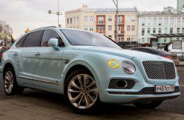 Сотню кроссоверов Bentley отзывают в России из-за утечки топлива