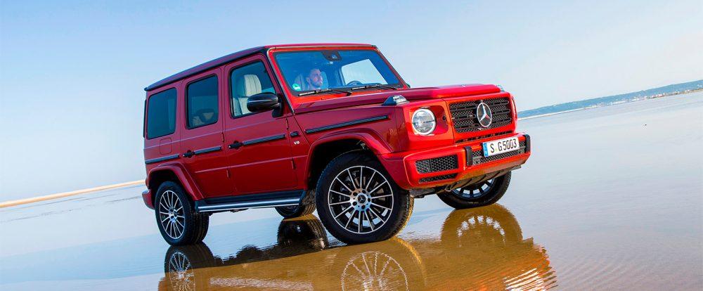 Mercedes-Benz отправит в ремонт более 1,6 тыс. «Гелендвагенов» в России