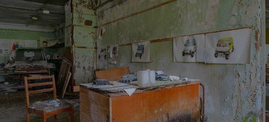 В России обнаружили заброшенные прототипы АЗЛК