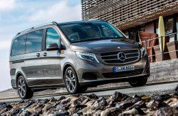Mercedes отправит на сервис минивэны V-Class в России