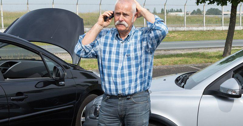 Прицельные автоподставы: объект — пожилые водители