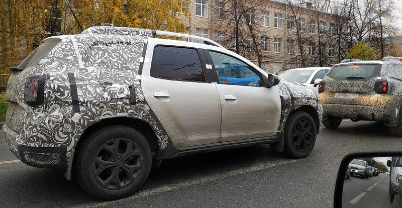 Обновленный Duster для России замечен в Тольятти