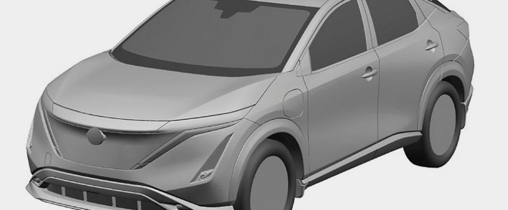 Nissan запатентовал в России свой первый электрический кроссовер