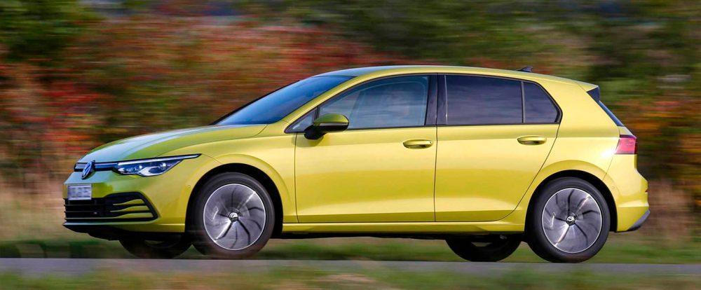 Хэтчбек Volkswagen Golf нового поколения получил версию на газе
