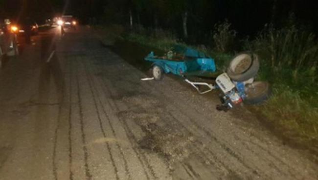 По факту ДТП в Монастырщинском районе возбудили уголовное дело