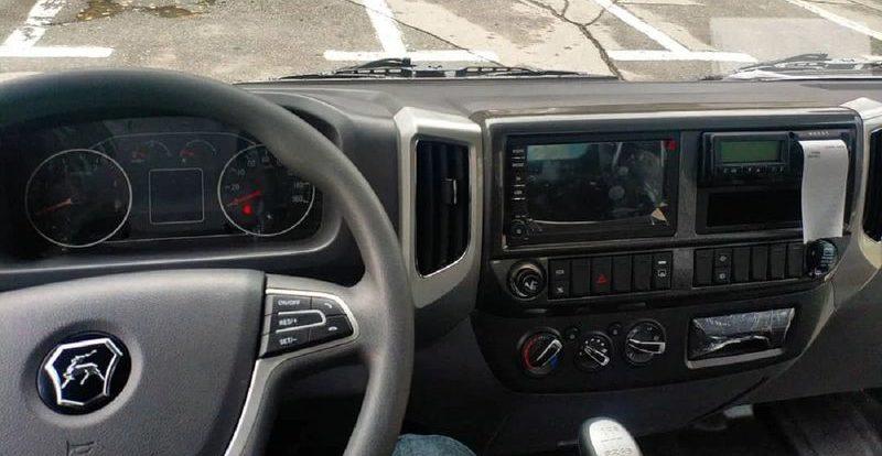 Первое фото салона грузовика ГАЗ Валдай Next Официальных фото пока не бы