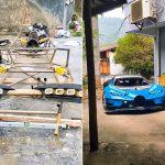 Реплику гиперкара Bugatti Vision Gran Turismo собрали в обычном гараже