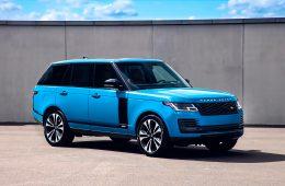 В Россию привезли юбилейную версию внедорожника Range Rover
